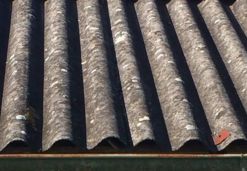 bernie banton foundation asbestos cement corrugated roof wall and